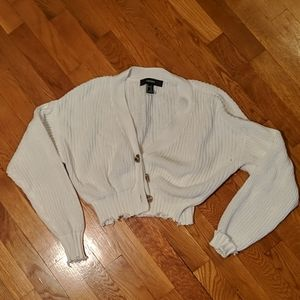 Forever 21 cropped cardigan, size S, EUC